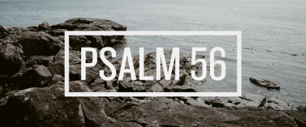 Psalm 56- rocks