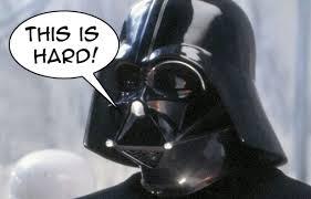 This is Hard- Darth Vader