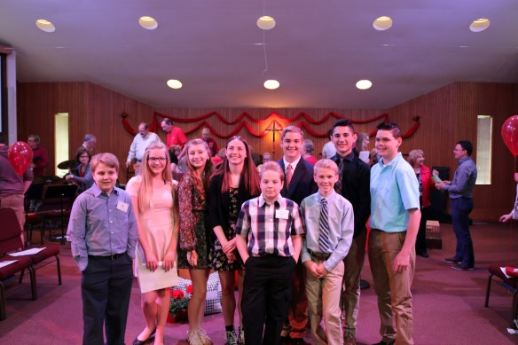 Confirmation 2016- Class pic