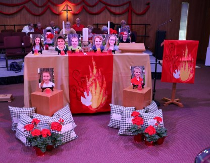 Confirmation 2016- Communion Table