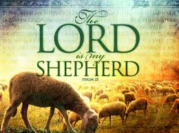 The Lord is my Shepherd pic with sheep