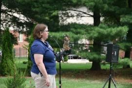 Birds of Prey- Broad Wing Hawk w Handler